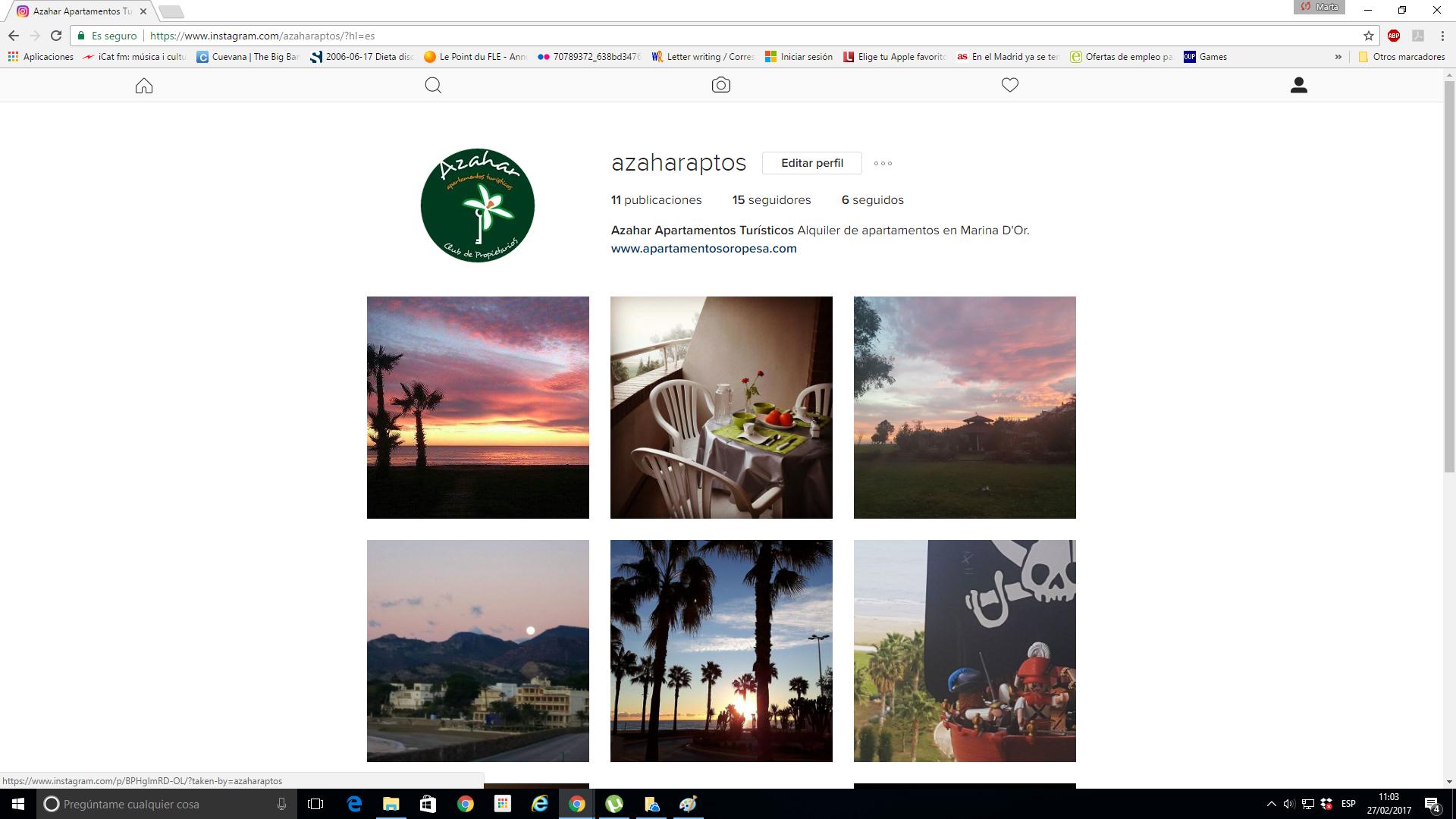 instagram y fotografías