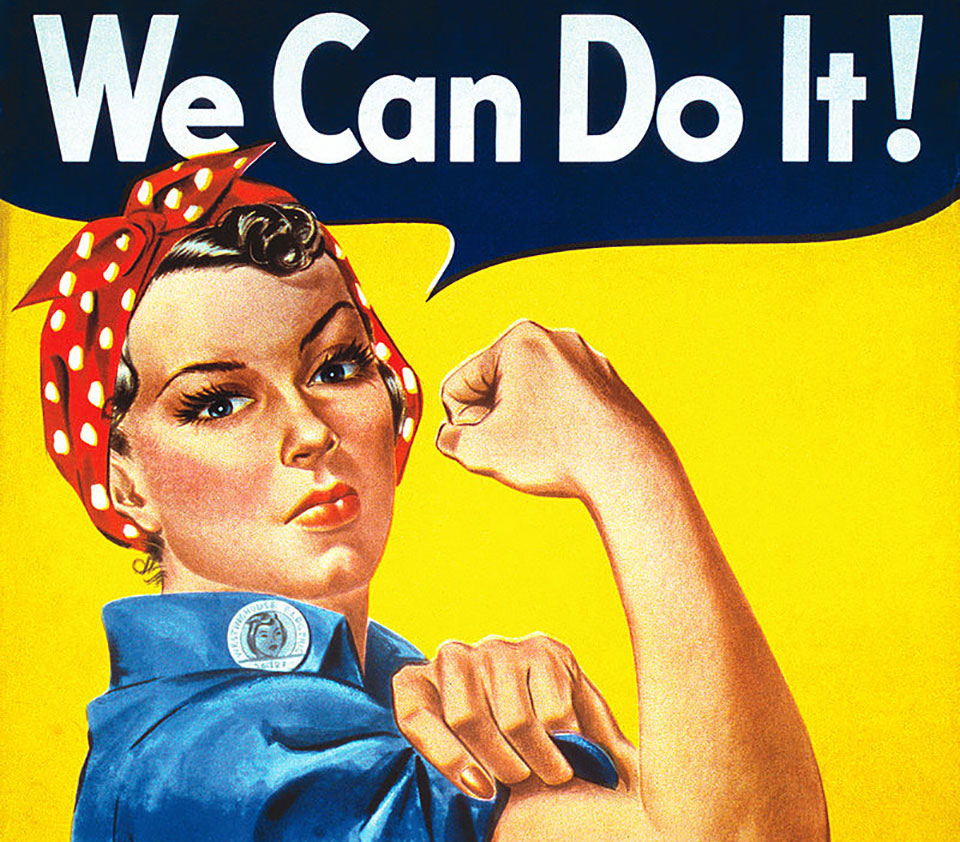 ¿SABES LA HISTORIA DEL MÍTICO CARTEL «WE CAN DO IT»?